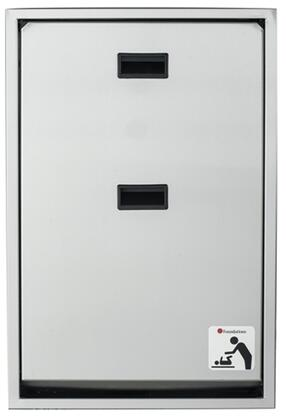 Legacy Collection 100SSV-SM 34 inch  Changing Station Vertical Mount with Plastic Covered Edges  Full Stainless Steel Frame and