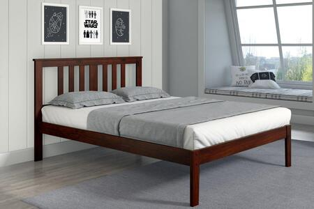 625FCP Venice Full Bed With Full-Slats-Mattress Ready: