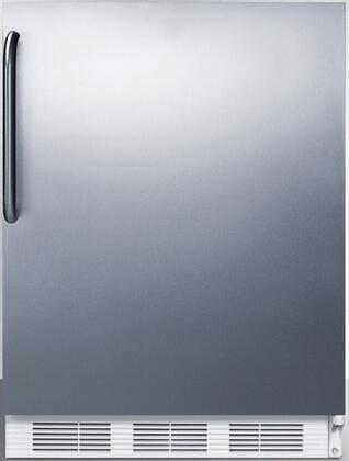 FF7CSSADA 24 inch  FF7BIADA Series ADA Compliant  Medical  Commercially Approved Freestanding or Built In Compact Refrigerator with 5.5 cu. ft. Capacity and Auto