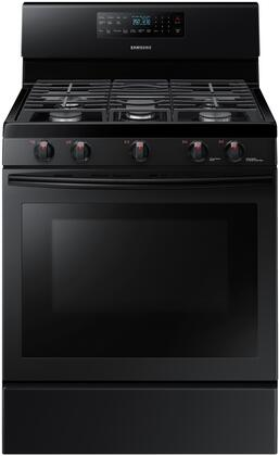 NX58M5600SB 30 inch  Freestanding Convection Rage With 5.8 Cu. ft. Capacity  Griddle  in