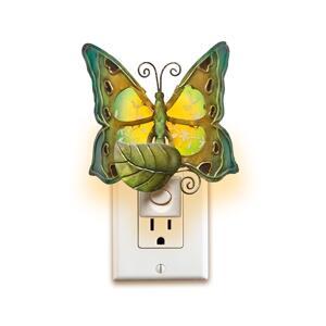DFA0899 Nightlight Decor - Butterfly in Blue  Orange