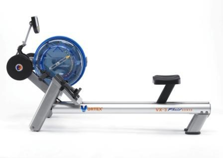 VX-3 Commercial Vortex-3 Fluid Rower with 20 Level Patented Variable Fluid Resistance and Interactive Performance