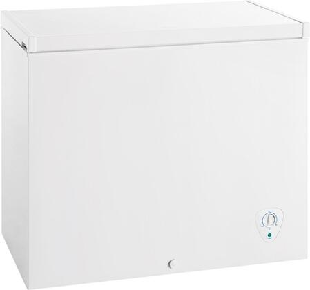 CFC072QW 37 inch  Chest Freezer with 7 cu. ft. Capacity  Adjustable Temperature Control  Removable Wire Basket  Power On Light  Manual Defrost  in