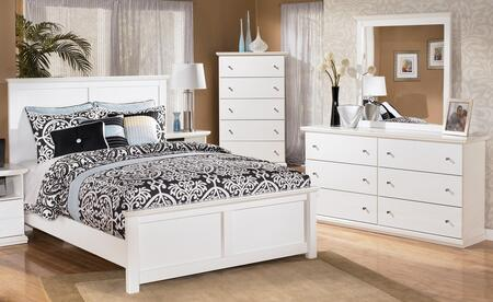Bostwick Shoals King Bedroom Set With Panel Bed  Dresser  Mirror And Chest In