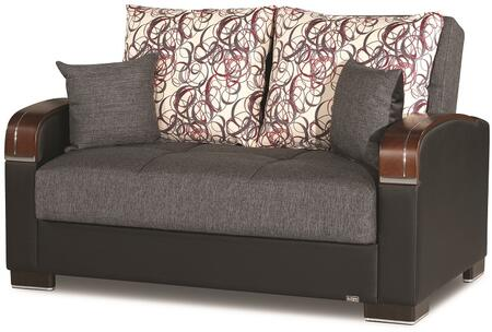 Mobimax Collection MOBIMAX LOVE SEAT GRAY 07-321 65