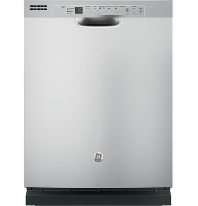 "GE 24"" Front Control Tall Tub Built-In Dishwasher Stainless Steel GDF610PSJSS"