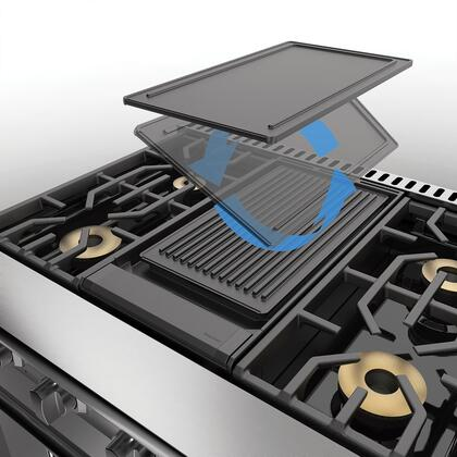 PQGDVGR2CI Reversible Grill/Griddle (For Use with Griddle