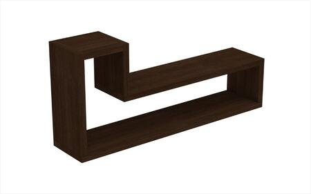 Barbas Collection 45AMC49 21 inch  L Shaped Floating Shelf with High Quality MDP in