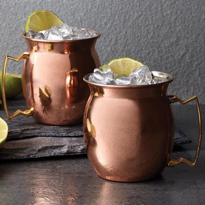 07680102 Copper Moscow Mule Mug 16 oz(Set of