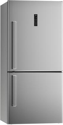 REF31BMXR Freestanding Bottom Mount Refrigerator with 17 cu. ft. Capacity  5 Level Airflow System  Touch Control Interface  and Auto Defrost  in Stainless