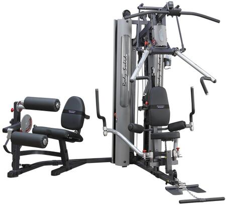G-Series G10B Bi-Angular Home Gym with Hydraulic Seats  Two 210-Pound Weight Stack and Two Seats in