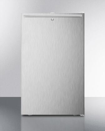 FF511L7SSHH 20 inch  Commercially Approved  Medical Compact Refrigerator with 4.1 cu. ft. Capacity  Crisper  Automatic Defrost and Door Lock: Horizontal