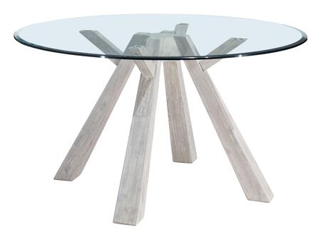 100744 Beaumont Glass Round Dining