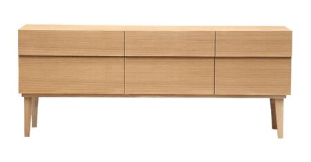 STO-SB-REFLECT-NAT Reflection Mid-Century Modern Sideboard Credenza  Natural Ash