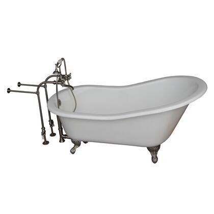 TKCTSN67-BN2 Tub Kit 67 CI Slipper  Tub Filler  Supplies  Drain-Brush