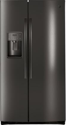 GE Profile PSE25KBLTS 36 Inch Freestanding Side by Side Refrigerator