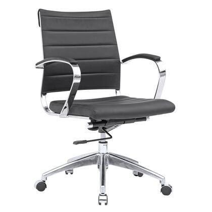 FMI10077-black Sopada Conference Office Chair Mid Back