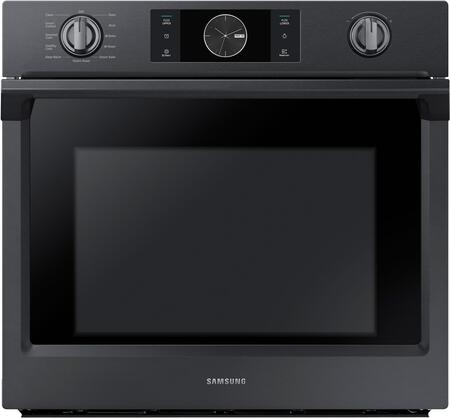 Samsung NV51K7770SG 30 5.1 cu. ft. Total Capacity Electric Single Wall Oven with Top Broiler, in Black Stainless Steel