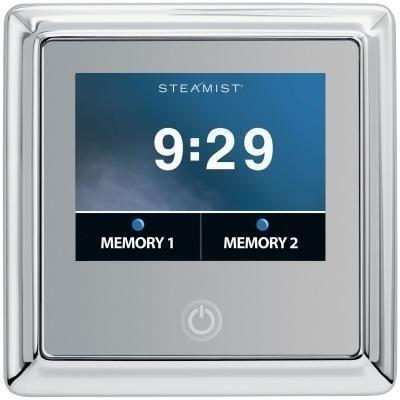 450T-PC Traditional Total Sense Steambath Residential Control  in Polished