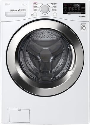 WM3700HWA Ultra Large Capacity Front Load Washer with 4.5 cu. ft. Capacity  Steam  and WiFi Connectivity  in