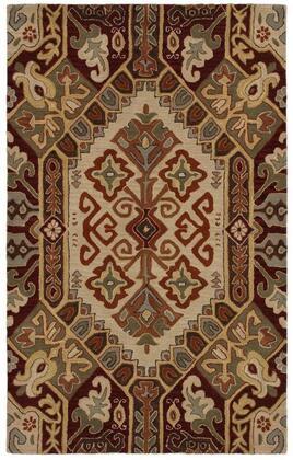 Sowsu810504700810 Southwest Su8105-8 X 10 Hand-tufted 100% Wool Rug In Beige  Rectangle