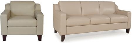 Cora Collection 34903MS1294SC 2-Piece Living Room Set with Sofa and Chair in