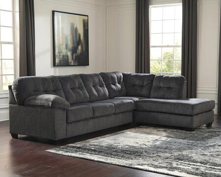 Accrington Collection 70509-66-17 2-Piece Sectional Sofa with Left Arm Facing Sofa and Right Arm Facing Corner Chaise in