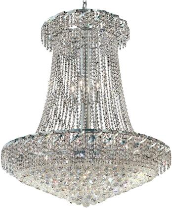 VECA1G36SC/RC Belenus Collection Chandelier D:36In H:42In Lt:22 Chrome Finish (Royal Cut