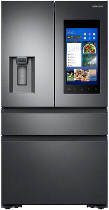 Samsung RF23M8570SG 36 Inch Smart Freestanding Counter Depth 4 Door French Door Refrigerator with 22.2 cu. ft. Total Capacity