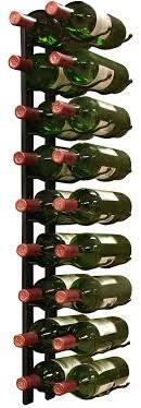 Epicureanist 18 Bottle Wall Mounted Wine Bottle Rack EP-WIRE2B