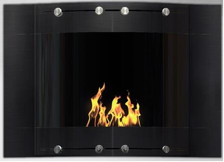 V-101A B 9800 BTU Bioethanol Liquid Fuel Fireplace: Wave