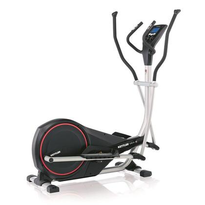 7670160 Unix E Elliptical Cross Trainer with LCD Computer Display  Heart-Rate-Control  Non-Friction Magnetic Brake System  Powder Coated High Carbon Steel