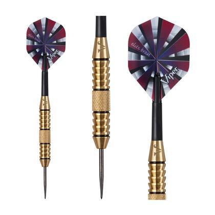 22-0624-24 Viper Elite Brass Steel Tip Darts 24