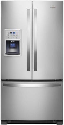 Whirlpool WRF550CDHZ 36 Fingerprint Resistant Stainless Steel Counter-Depth French Door  Refrigerator