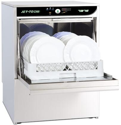 737E High-Temp Undercounter Deluxe Dishwasher Electronic Series with 30 Racks of Hourly Cleaning  3.43 Gallons Wash Tank Capacity  150 Degrees F Wash