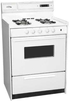 WNM6307KW 24 Freestanding Gas Range with 4 Open Burners  2.9 Cu. Ft. Capacity  Manual Clean  Oven Window & Electronic Ignition  in