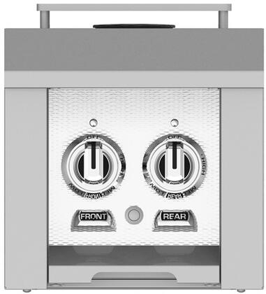 AGB122LPWH 12 inch  Built-In Liquid Propane Double Side Burners with 30 000 BTU Total Heat Output  in Froth
