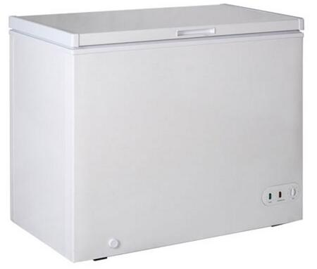 BDCF-9 46 inch  Black Diamond Chest Freezer with 8.7 cu. ft. Capacity  Embossed Aluminum Interior  Manual Temperature Controller  Manual Defrosting and a Wire