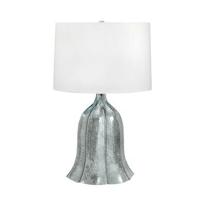 240 Fluted Mercury Glass Table Lamp Mercury
