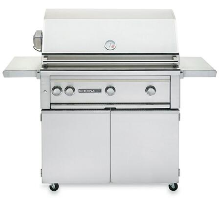 Sedona 2-Piece Stainless Steel Outdoor Grill Set with L600PSRNG 36