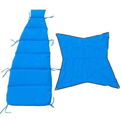 8402RB 76 inch  Cloud-9 Pad/Pillow/Canopy Set in Royal