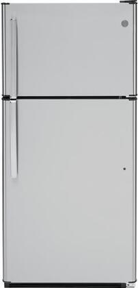 GTS18FSLSS 30 Top Freezer Refrigerator with 18.2 cu. ft. Total Capacity  LED Interior Lighting  Dairy Bin  Gallon Door Storage  Adjustable Glass