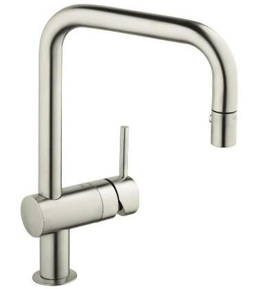 Grohe 32319DC0 Minta Single-Handle Kitchen Faucet, Supersteel