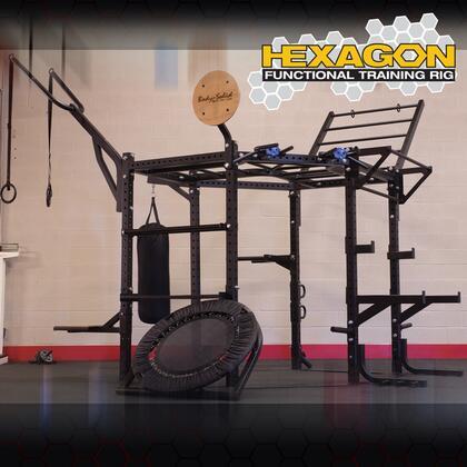 SRHEXCLUB Body Solid 117 inch  Hexagon System with Club Attachment