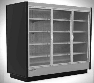 KGVMR3R High Volume Grab-N-Go Case with 3 Doors  56.37 cu. ft. Capacity  4430 Cooling BTU  in