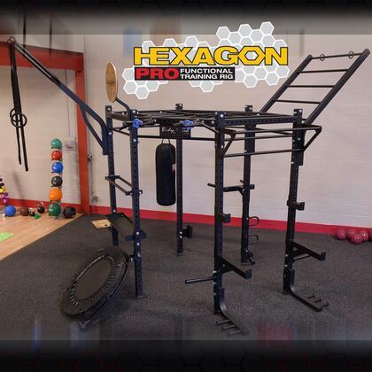SRHEXPROCLUB Body Solid 132 inch  Hexagon System with Club Attachment