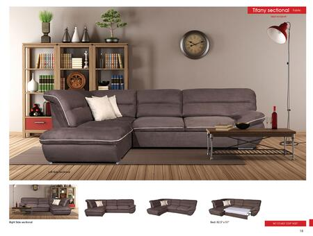 p8199 Tiffany Sectional  Sofa Beds  Euro