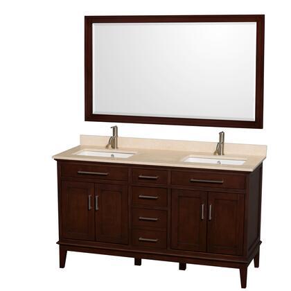 WCV161660DCDIVUNSM56 60 in. Double Bathroom Vanity in