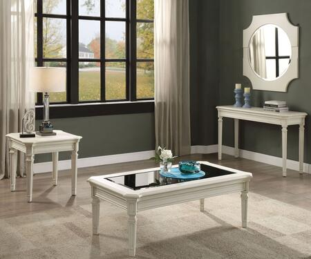Florissa Collection 830904SET 4 PC Living Room Table Set with 52