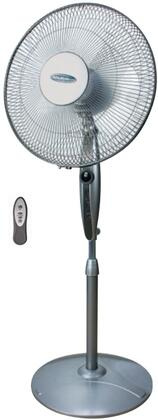 FS40RA 16 inch  Stand Fan with 3 Speed Fans  Auto Off Timer  Oscillation  LED Display Panel  Adjustable Height  and Quiet Operation  in